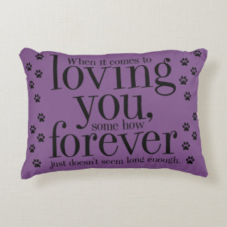 Throw Pillows With Dog Sayings : Dog Quote Pillows - Decorative & Throw Pillows Zazzle