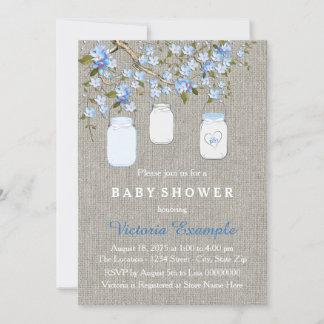 burlap baby shower invitations announcements zazzle