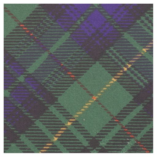Stewart clan Hunting Plaid Scottish tartan Fabric