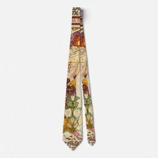 Vintage Playbill 1896 Neck Tie