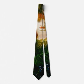 Lady of the Garland 1873 Neck Tie
