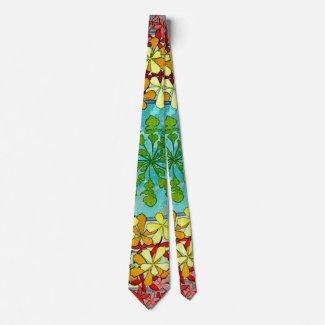 Leaf Motif 1901 Tie