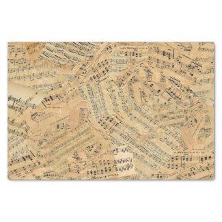 Pieces of Vintage Music POMV Tissue Paper