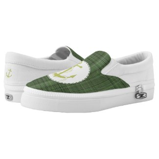 Anchors Away Printed Shoes