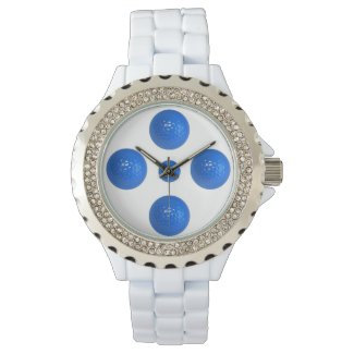 Golf themed womens Rhinestone watch