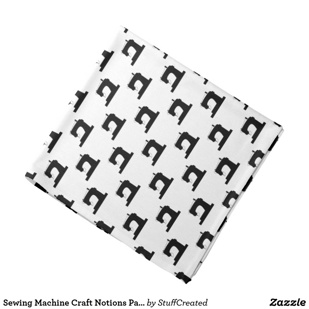 Sewing machine bandana (any color)