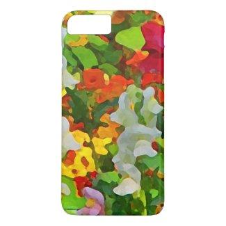 Flower Garden Colors iPhone 7 Plus Case