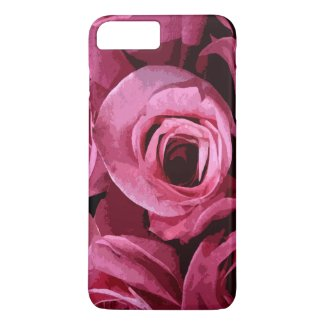 Rose Abstract iPhone 7 Plus Case