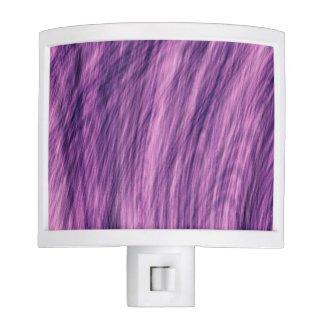 Purple Fir Fractal Night Light
