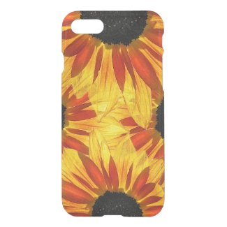 Red Yellow Garden Sunflower Abstract iPhone 7 Case