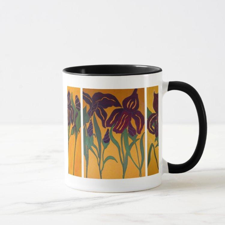 Dancing Iris Mug