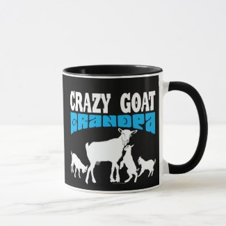 GOATS | Crazy Goat Grandpa White GYG Mug