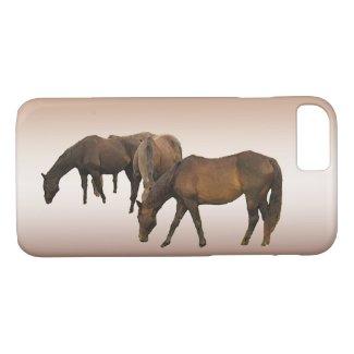 Grazing Horses iPhone 7 Case