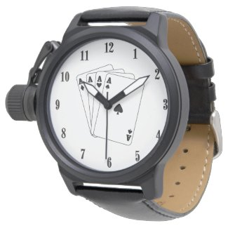 Aces Cards Wristwatches