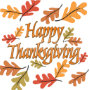 Happy Thanksgiving Paper Napkins