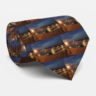 Enchanted Evening in Budapest Neck Tie