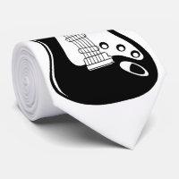 Guitar Neck Tie