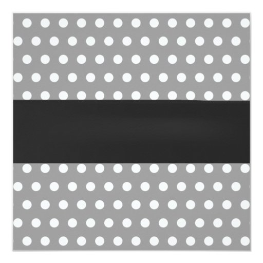 Classy Gray Polka Dots Rubber Ducky Twins Birthday 5.25x5.25 Square Paper Invitation Card (back side)