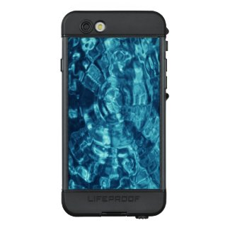 Abstract Blue Rippling Water LifeProof® NÜÜD® iPhone 6s Case