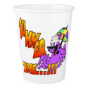 Summer Time Octopus Paper Cups Paper Cup