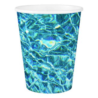 Falln Shimmering Water Paper Cup