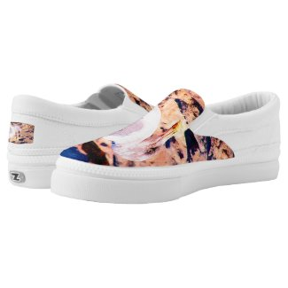 Beach Seagull Printed Shoes