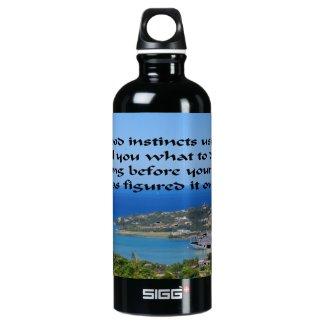 Trust your gut water bottle