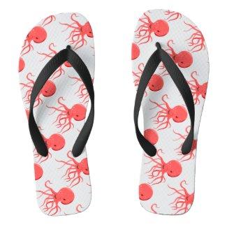 Octopus Flip Flops