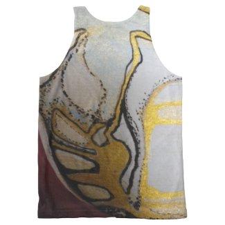 Sxisma Golden Eye Tank Top All-Over Print Tank Top