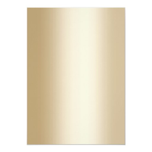 Chic Gold Confetti Dots Wedding Anniversary 5x7 Paper Invitation Card (back side)
