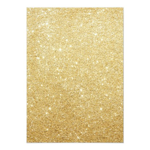 Luxury Gold Glitter Background Housewarming Party 5x7 Paper Invitation Card (back side)