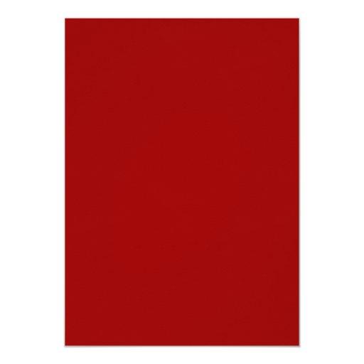 "Ruby Gems 40th Wedding Anniversary Party Invites 5"" X 7"" Invitation Card (back side)"