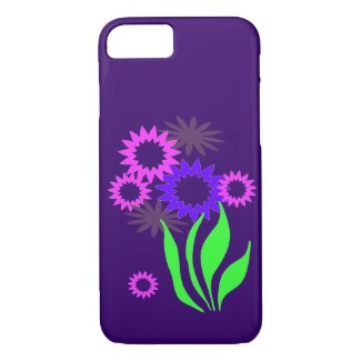 Whimsical Spring Flowers iPhone 7 Case
