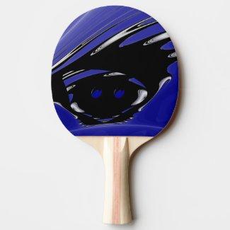 Punk Ping-Pong Paddle