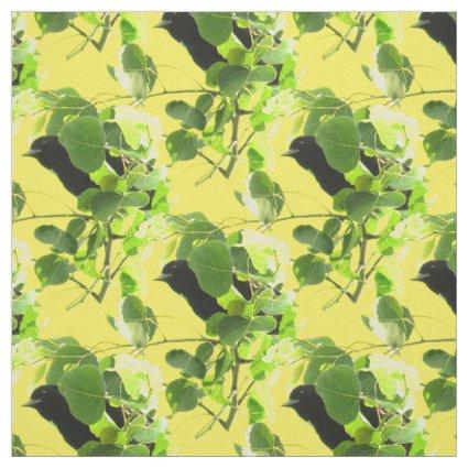 Blackbirds Fabric