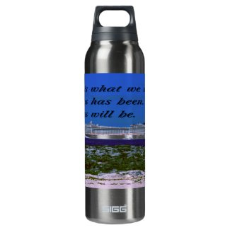The meaning of life thermos bottle