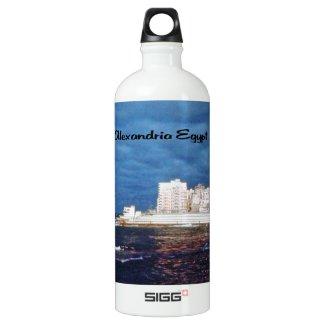 Alexandria Egypt Water Bottle