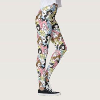 Disney Princess | Oversized Pattern Leggings