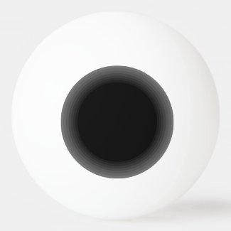 Black Hole Ping Pong Funny Geeky Nerdy Fun Ping Pong Ball