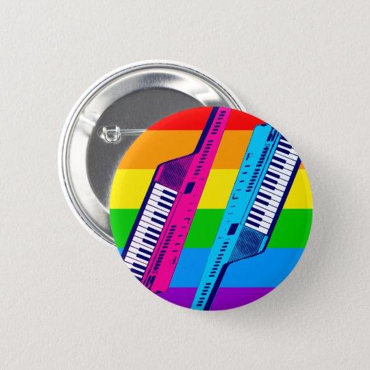 RAINBOW KEYTAR PIN