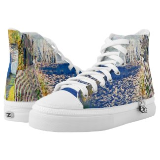 Beach Dunes Printed Shoes