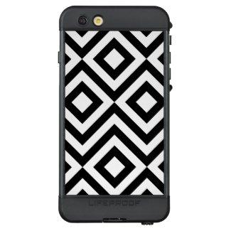 Black and White Diamonds, Zigzags LifeProof® NÜÜD® iPhone 6s Plus Case