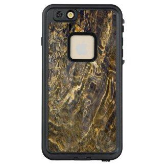 Rippling Golden Fractal Fountain Water LifeProof® FRĒ® iPhone 6/6s Plus Case