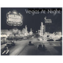 Vintage Las Vegas Strip Postcard Zazzle Com