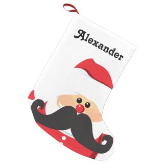 Santa Claus Small Christmas Stocking