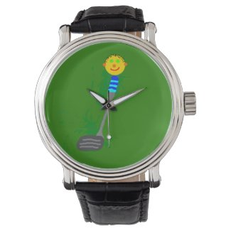 Curly Clubhead golf watch