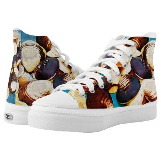 seashell sneakers