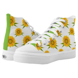 Sunflowers Printed Shoes