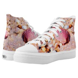 Seashells Printed Shoes
