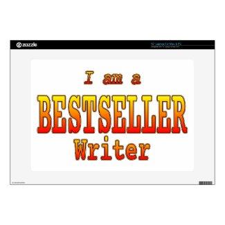 Bestseller Writer Laptop Skin Customizable